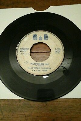 "WATERMELON MAN-BABBA BROOKS.VINYL 7""45rpm R&B . VGC"