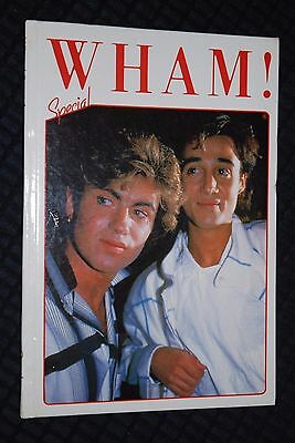 WHAM! SPECIAL (ANNUAL) 1985 - PACKED WITH PHOTOS & INFO - 1980's  GEORGE MICHAEL