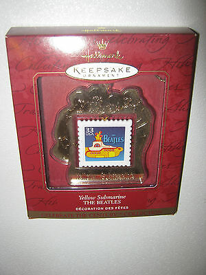 The Beatles Yellow Submarine Hallmark Keepsake Decorative Stamp Ornament