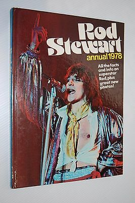 Rod Stewart Annual 1978 - Packed With Photos & Info - Pop Legend - The Faces