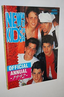The Official New Kids On The Block Annual 1992 - Packed With Photos & Info Nkotb