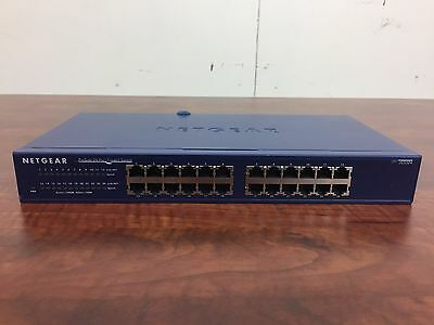 Netgear ProSafe JGS524 v2 24-Port Gigabi Ethernet Switch samedayship