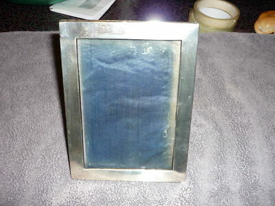 silver photo frame hall marked