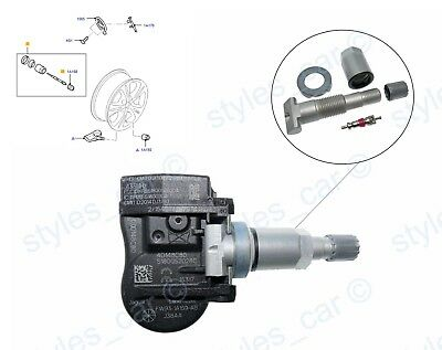 1x Ford Mondeo Galaxy S-Max Tyre Pressure Sensor TPMS 433MHz 8G92-1A159-AE