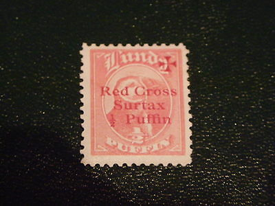 Lundy Island Red Cross Overprint ½ Puffin #29