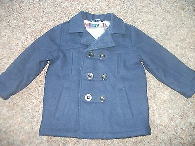 M&S Boys Wool Blend Coat age 2 to 3,