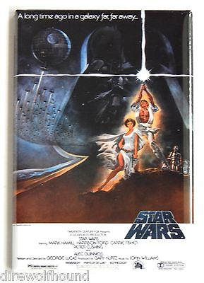 Star Wars: A New Hope FRIDGE MAGNET (2 x 3 inches) movie poster