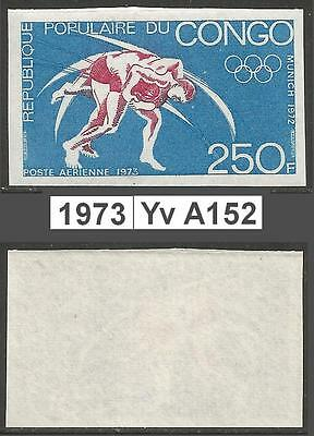 Congo  PR - 1973 - Yv A152 - MNH - Munich Olymp Games 250F -ND non dent - imperf