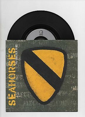 "THE SEAHORSES - YOU CAN TALK TO ME 7"" 45 EX+/EX+ RARE VINYL Stone Roses Ltd Edn"