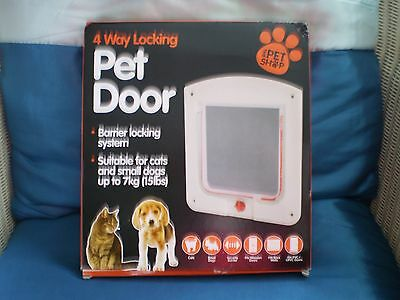 Pet door 4 way
