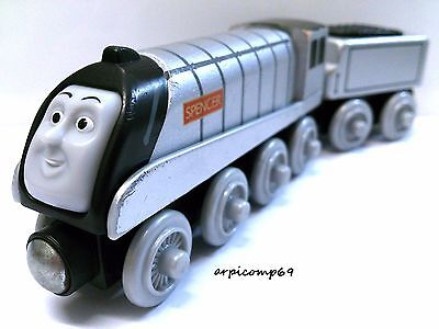 SPENCER & TENDER ENGINE - BRIO ELC THOMAS AND FRIENDS Wooden Trains T1