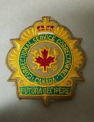 Canada Correctional Services (Police) Shoulder Patch