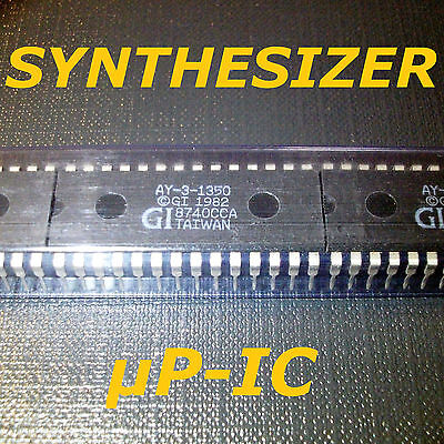���� X-MAS OFFER ���� 5x AY-3-1350 General Instr. 1985 vintage RETRO Synthi chip