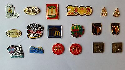 McDonalds Pins from Dealer Conventions 18 pieces