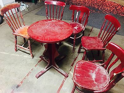 Vintage Style Tables & Chairs