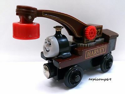 HARVEY ENGINE - BRIO ELC THOMAS AND FRIENDS Wooden Trains T1