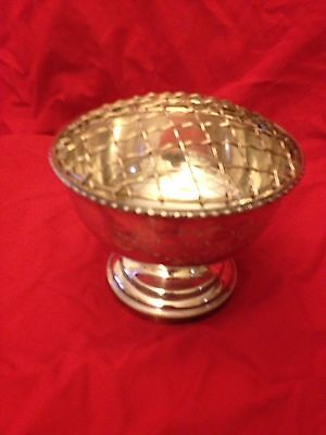 Silver Plated Rose Bowl