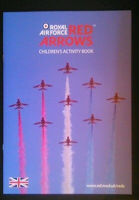 Raf Red Arrows Childrens Activity Book