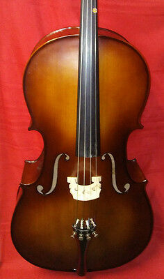 Nice Jay Zee 3/4 Cello With Padded Bag - Bow Rosin And Rock Stop Ready To Play