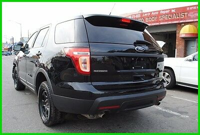 2014 Ford Explorer Police Interceptor AWD Repairable Rebuildable Salvage Wrecked Runs Drives EZ Project Needs Fix Save Big