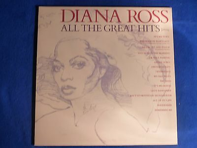 Diana Ross - ALL THE GREAT HITS Vinyl LP