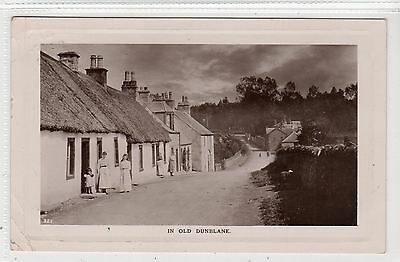 IN OLD DUNBLANE: Perthshire postcard (C22803)