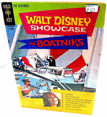 *Walt Disney Showcase (Gold Key) LOT #1, 4, 5, 14 & 16  (5 books, TV/movies)