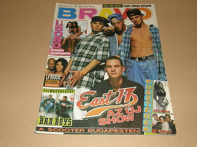 EAST 17 cover Hungarian magazine 1995 JANET JACKSON DJ BOBO WILL SMITH SCOOTER