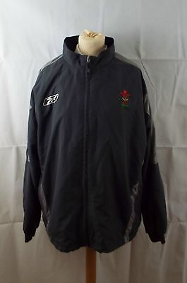 WRU Welsh Rugby grey Men's training / tracksuit jacket size XL