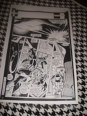 John Byrne Guardians Of Galaxy Starlord Page J Production Art Acetate