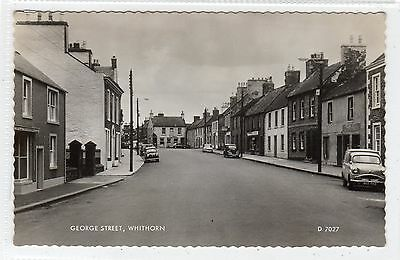 GEORGE STREET, WHITHORN: Wigtownshire postcard (C22248)