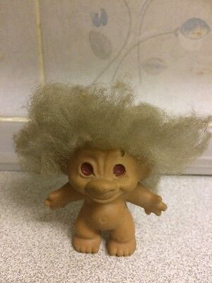 Vintage 1970's Troll Doll Very Loved