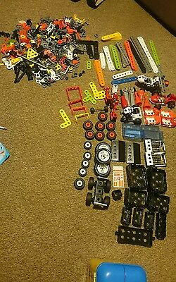Meccano junior plastic construction large mixed job lot See all pictures