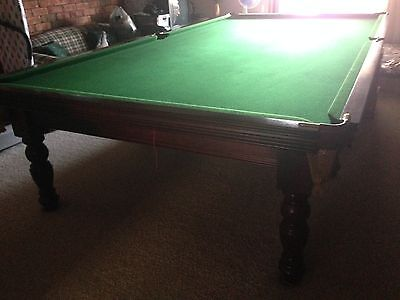 Full Size Large Snooker Pool Billiard Table and accessories