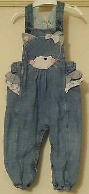 "Baby girls ""Next""  dungarees age 12-18 months"