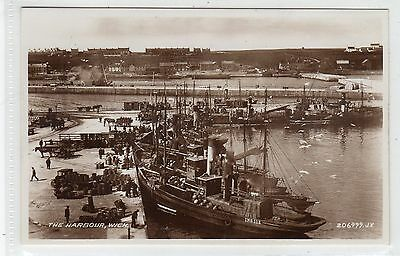 THE HARBOUR, WICK: Caithness postcard (C22324)