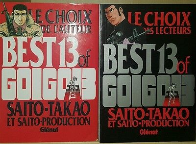 Collection complete manga Best of Golgo13 tomes 1 et 2 Golgo 13