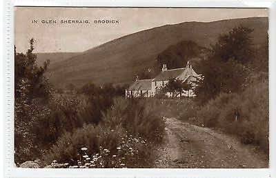 IN GLEN SHERRAIG, BRODICK: Isle of Arran postcard (C22968)
