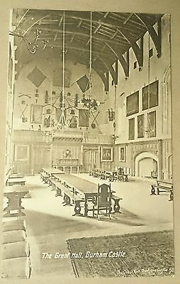 The Great Hall Durham Castle postcard