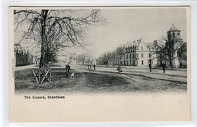 THE SQUARE, GRANTOWN-ON-SPEY: Morayshire postcard (C22355)