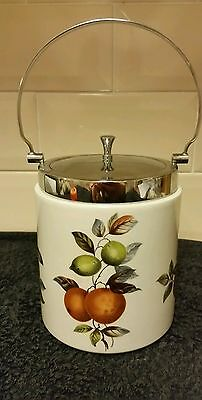 Midwinter stylecraft oranges and lemons tea coffee sugar canister jar