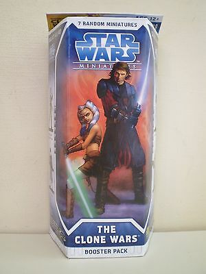 Star Wars Miniatures The Clone Wars NEW and SEALED