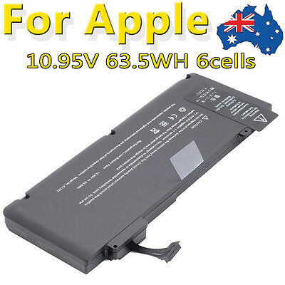 63.5WH Battery A1322 for Apple MacBook Pro 13 inch A1278 2009 2010 2011 Unibody