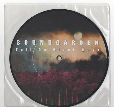 "Soundgarden 7"" Fell On Black Days Picture Disc"