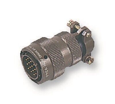 AB CONNECTORS AB05 Series, MIL-DTL-26482 Straight Plug, 6 Contacts