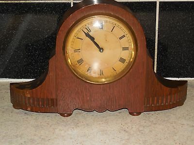 VINTAGE GERMAN  H.A.C. Made in  WURTTEMBERG MANTEL CLOCK