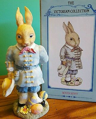 The Victorian Rabbit Figurine Collection Lot of 8