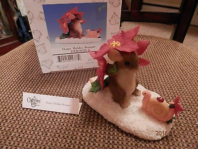 Charming Tails Happy Holiday Bouquet Special Edition Dean Griff mice