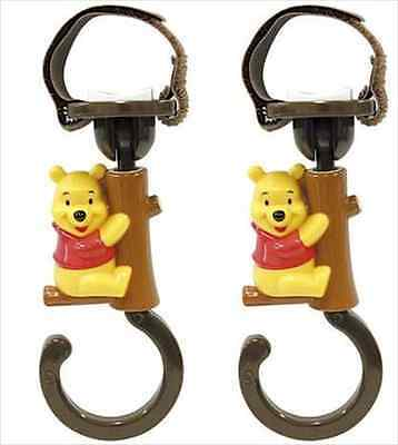 Stroller Luggage Hook Winnie the Pooh Disney Car Drive Baby Infant Shopping New