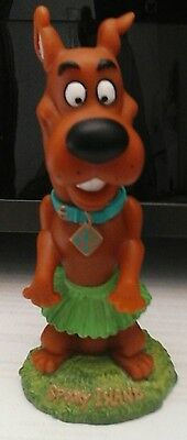 SCOOBY DOO Spooky Island Hula Bobble Head Toy Hanna Barbera 7""